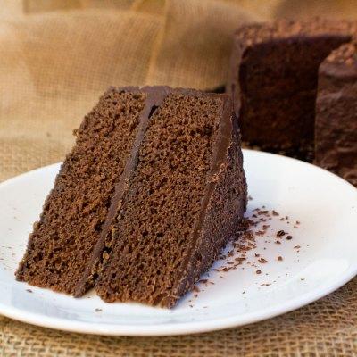 Chocolate Fudge Cake with Fudge Frosting