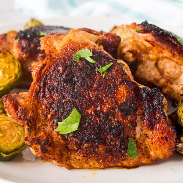 Balsamic Chicken Thighs (Pan Fried
