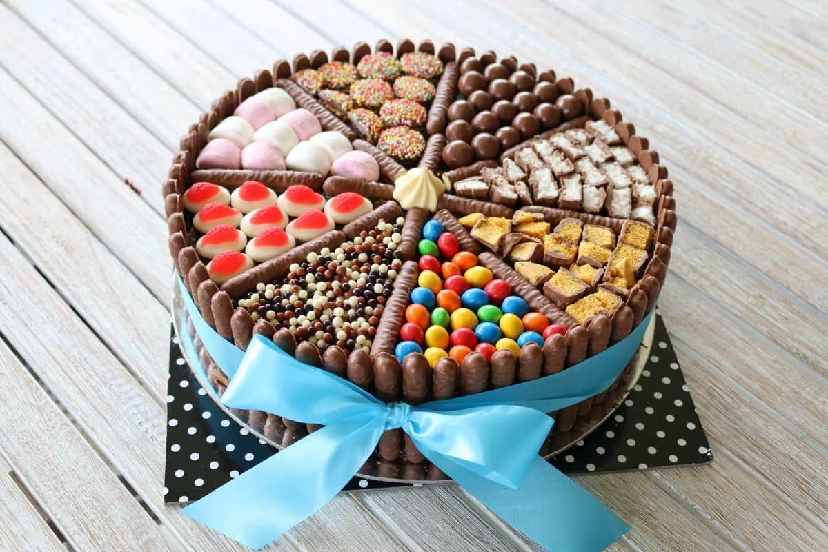Easy Chocolate Birthday Cake Lollies Chocolates Amp More