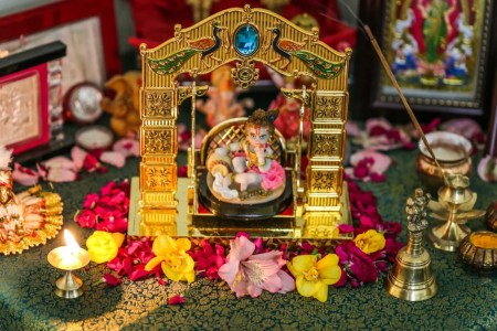 Janmashtami Special   5 Interesting Ideas to Decorate Your Pooja     Butter pot decorations