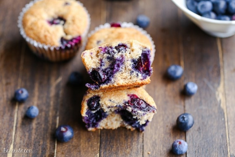 You would never know these Vegan Blueberry Muffins were made without eggs due to their light texture and incredible flavor! This easy recipe comes together quickly and only uses one bowl.