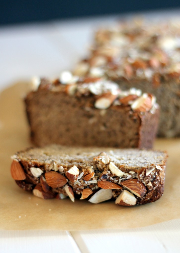 Almond Banana Bread (Gluten Free, Refined Sugar Free & Paleo!) on Bakerita's Top 10 Recipes of 2013!