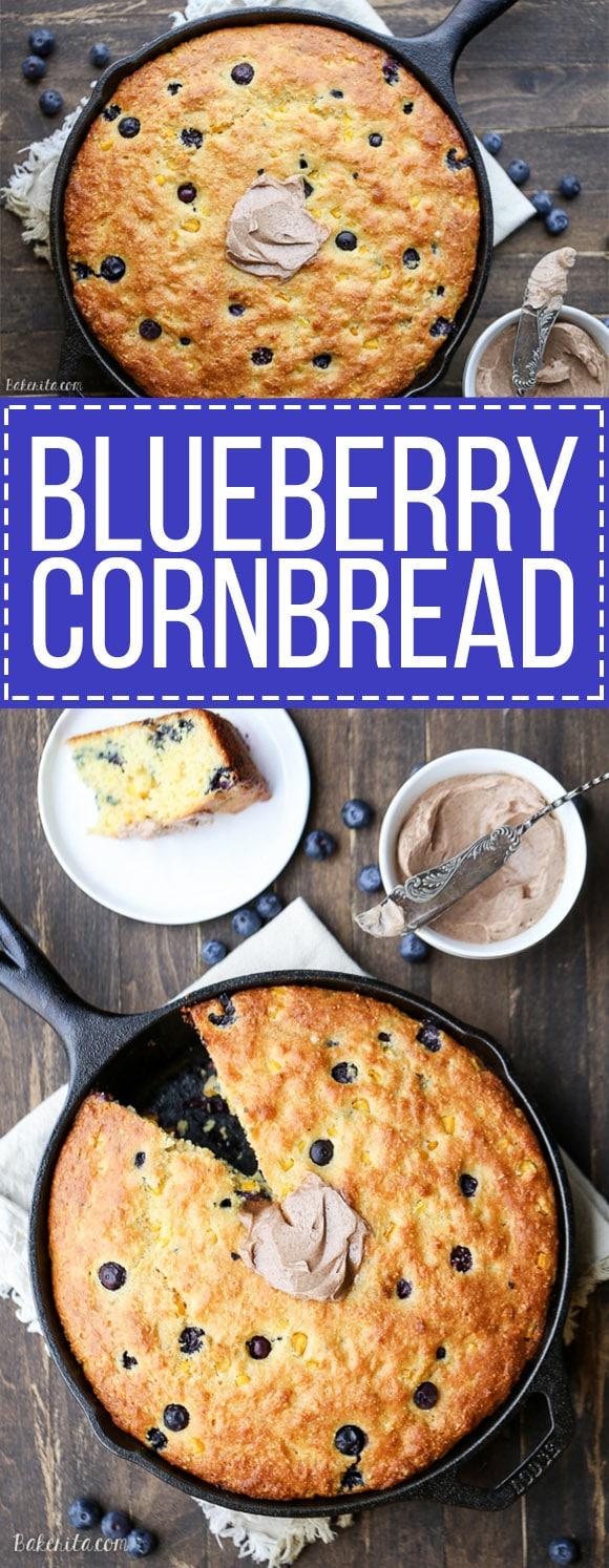 Sage And Honey Skillet Cornbread Recipe — Dishmaps
