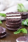 These Chocolate Peppermint Cups have a coconut butter peppermint filling, surrounded by homemade dark chocolate. You'll love these easy to make, gluten-free, paleo, and vegan homemade peppermint patties.