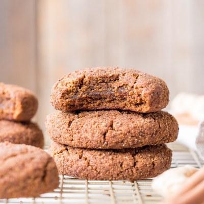 Soft Gingerbread Cookies (Gluten Free, Paleo + Vegan)