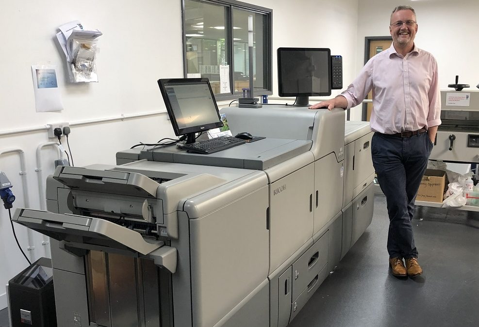 Baker Labels invests in Ricoh Pro C7200x