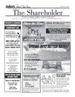 Bakers FCU Newsletter MARCH 2017
