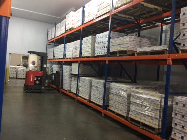 cold storage bakersfield rack and