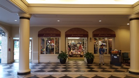 Shop in the resort center