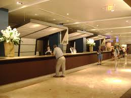 Front desk of Contemporary Resort