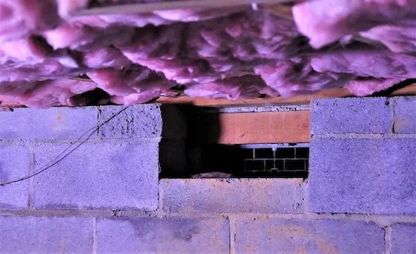 open crawl space vent
