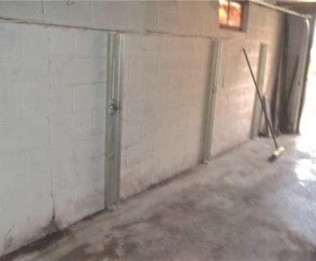 Bowed Wall Stabilization and Waterproofing in Bellaire, OH