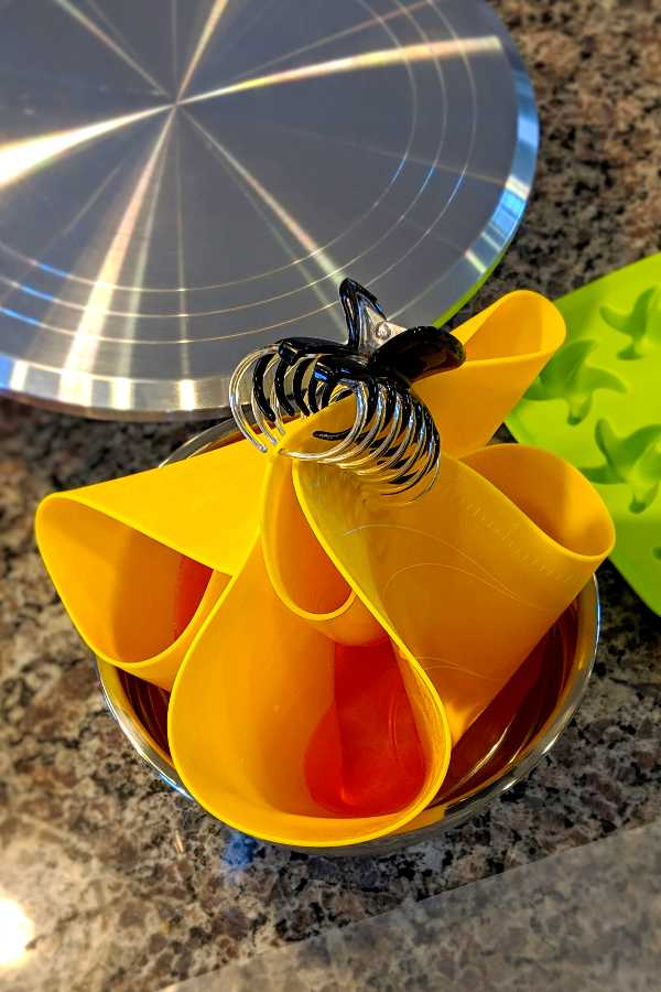 Tequila Sunrise Cake with an Isomalt Sail | Bakes and Blunders