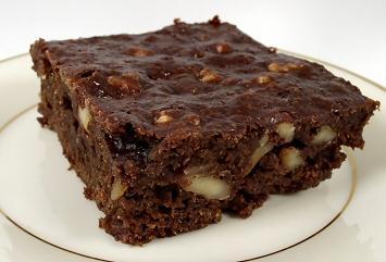 Fat-free Fudgy Brownies by valcook, BakeSpace Member