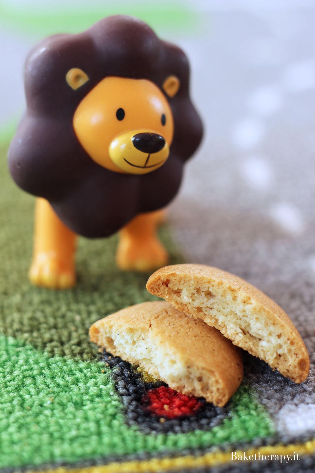 Biscotti per bambini solubili e senza glutine e lattosio.