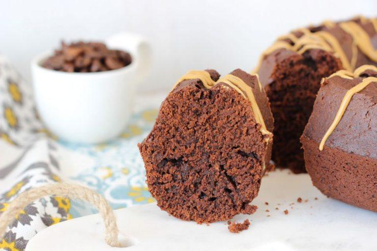 Ciambella al cacao e caffè senza burro
