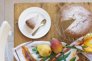 Torta soffice alle pere Baketherapy.it