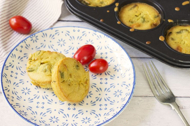 Fritattine alle verdure senza uova