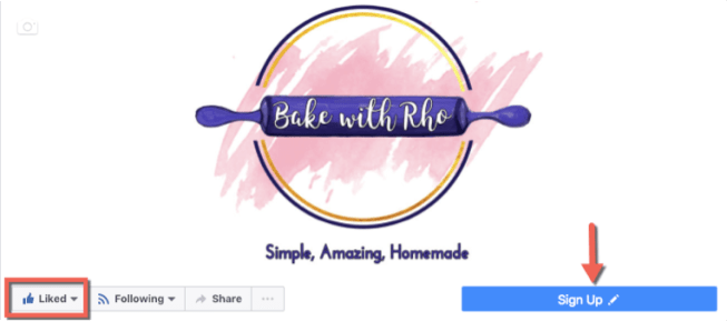 Bake with Rho Contest Sign Up