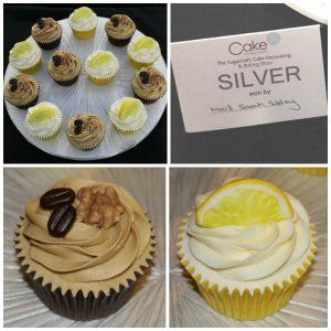Silver cupcakes