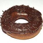 Dairy Free Baked Chocolate Doughnuts