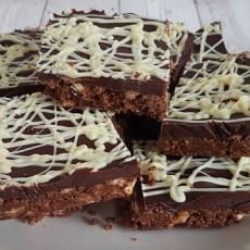 Triple Chocolate Tiffin