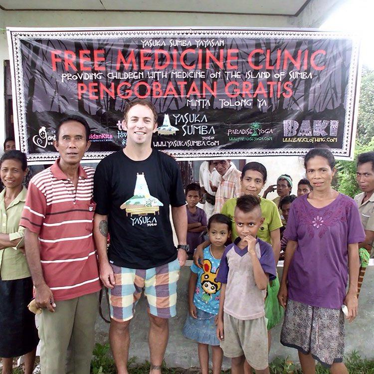 Free Medicine Clinic created by Baki Clothing Company