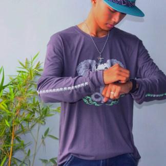 Elephunk Long-sleeve Bamboo Tshirt