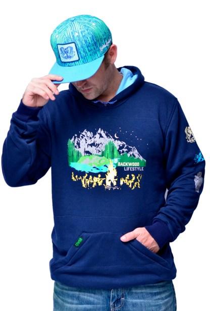 Bamboo lined hoodies by Baki Clothing Company