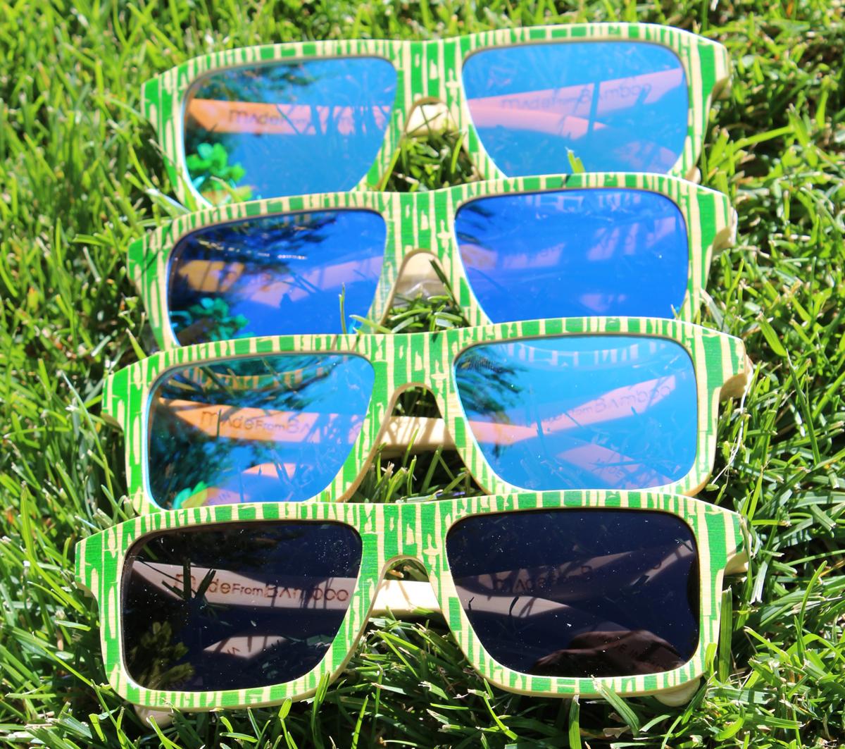 Bamboo Sunglasses by Baki Clothing Company