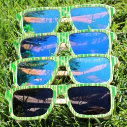 Bamboo Sunglasses by Baki Clothing Company