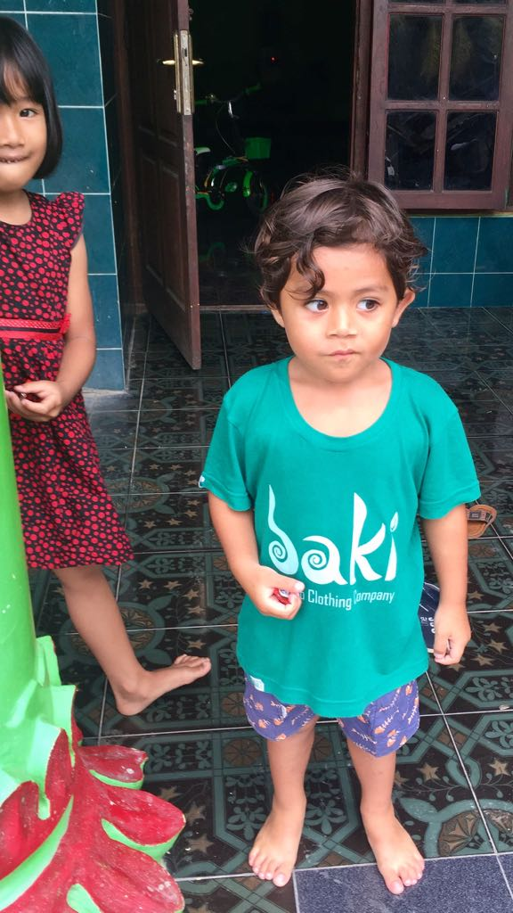 Kids Bamboo Tee by Baki Clothing Company