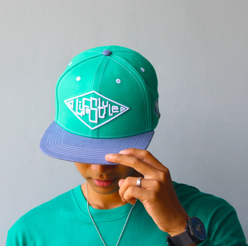 Lifestyle Snapback Hat by Baki Clothing Company