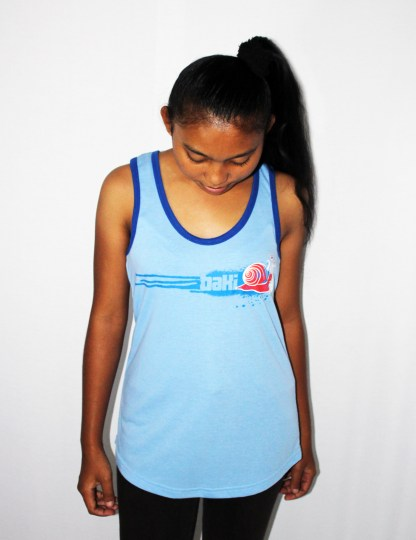 Ladies Racerback Singkjgkkkjjjklet by Baki Clothing Company