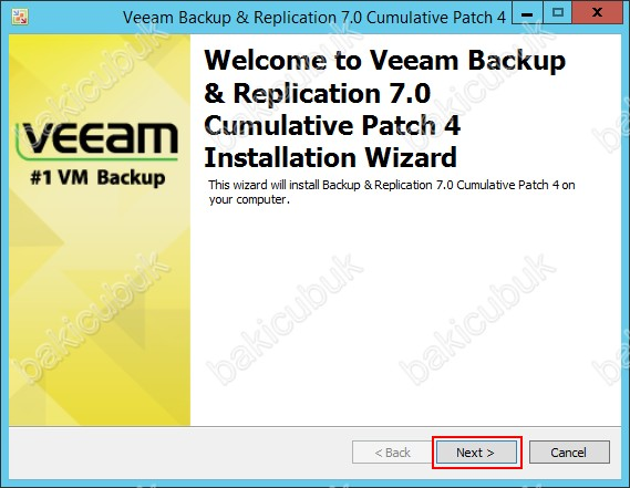 Veeam Backup & Replication v7 0 Patch 4 Kurulumu – Baki CUBUK