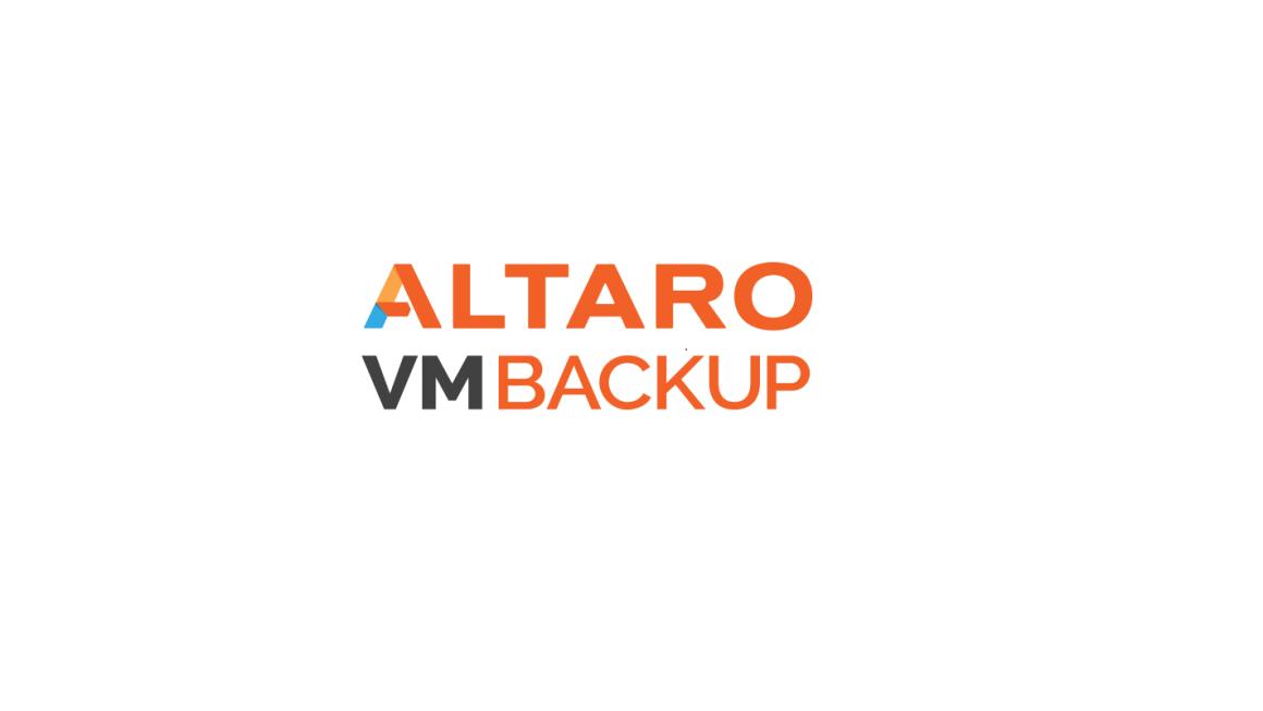 Altaro VM Backup 8.13 Yapılandırması