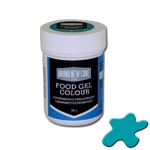 BrandNewCake Kleurstof Gel Turquoise 35gr