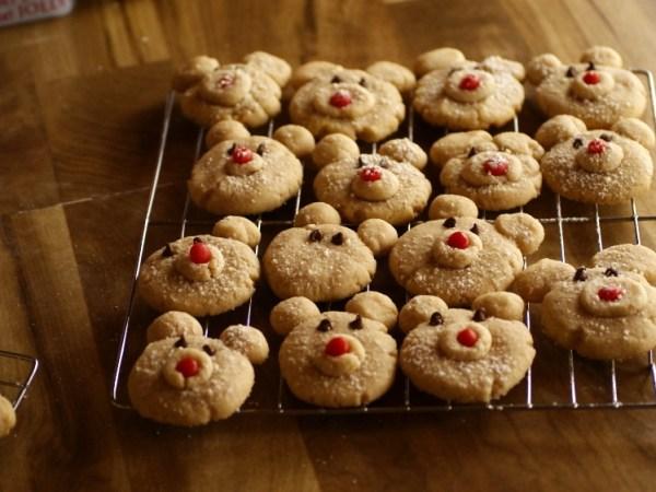 Baking Beauty Cinnamon Polar Bear Cookies