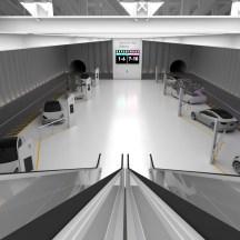 IBIE 2022 LVCC Boring Company Shuttle Station