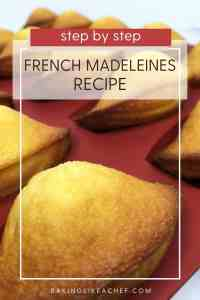 Baked Madeleines in a mold