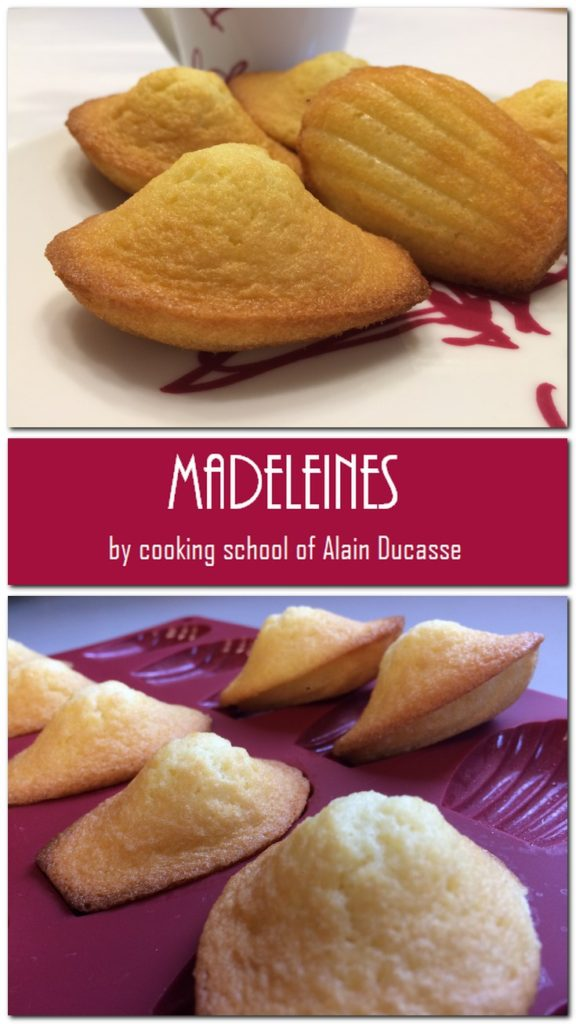 Madeleiens - Cooking School of Alain Deucasse: Pin 3