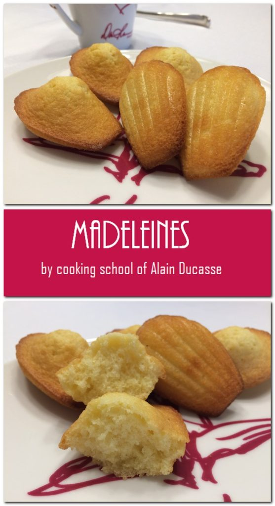 "Madeleiens - Cooking School of Alain Deucasse"" Pin 1"
