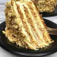 Layer Cashew Cake Sans Rival