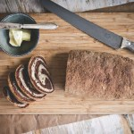 Gluten Free Marble Rye Bread + Video Tutorial