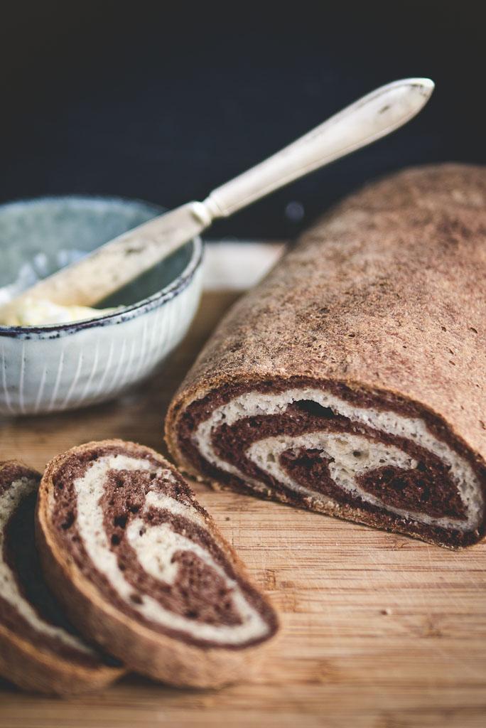 gluten free marble rye bread-9