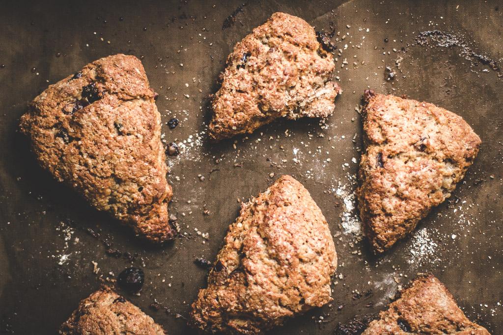 pecan cranberry oat scones-2
