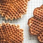 Oat & Millet Sourdough Waffles