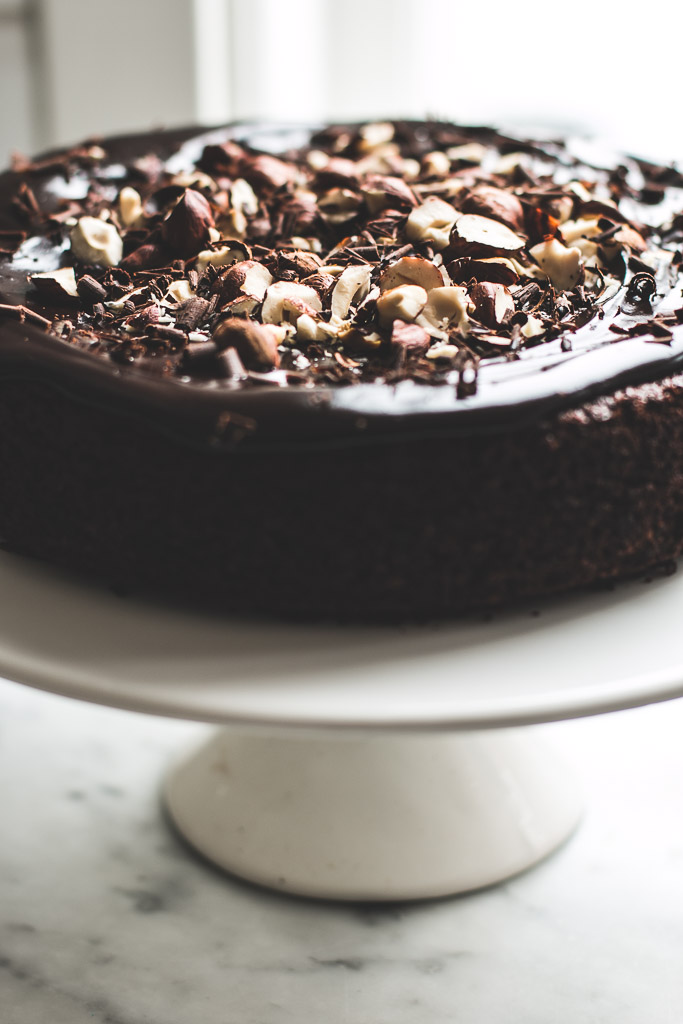 Flourless Chocolate Hazelnut Cake Baking Magique