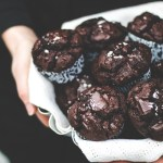 Double Chocolate Rye and Buckwheat Muffins