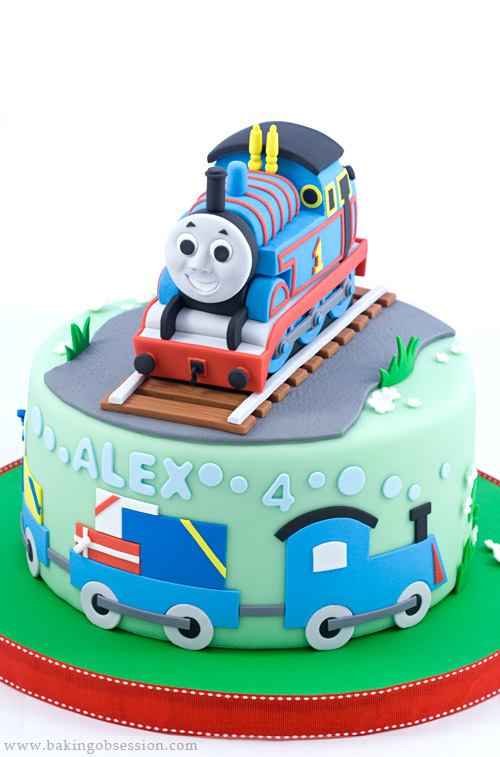 Thomas The Tank Engine Cake Baking Obsession
